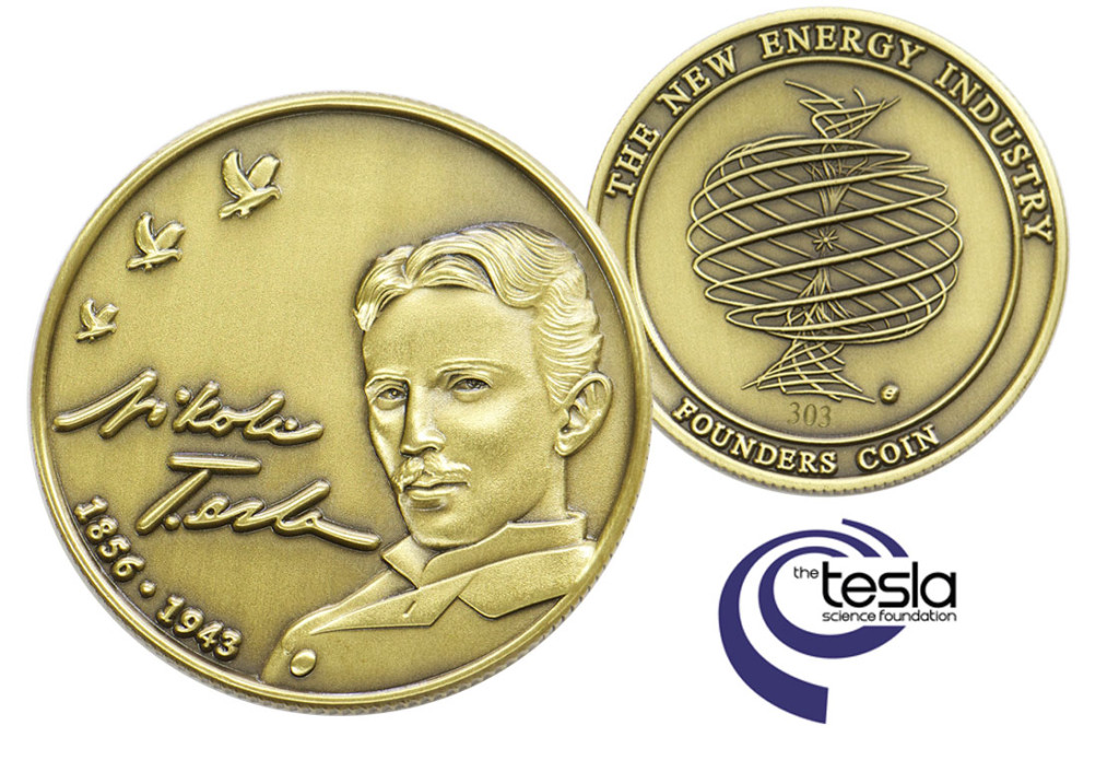 Tesla, coin, Founders,