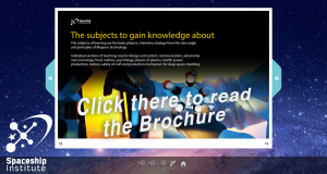 Click to read the brochure of the spaceship institute