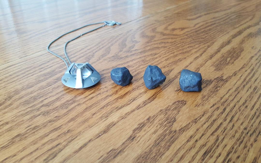 Found 3 Michigan Meteorites!