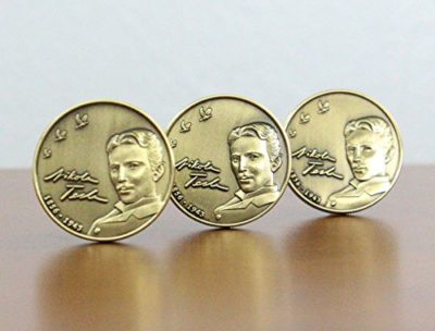 Tesla, Coins, Nikola,